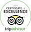 Trip Advisor Certificate of Excellence logo